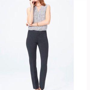 NYDJ slimming non-denim pant in gray